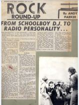1975 Burton Mail article + photo opening Matlock College Fete