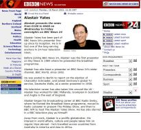 BBC website 2002
