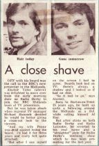 Birmingham Eve Mail 21.04.78 - A Close Shave
