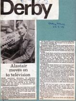 Moving from Derby to Pebble Mill - Derby News 23.03.78