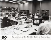Original Sky newsroom 1989
