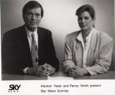 Publicity shot with Penny Smith - Sunrise