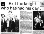 The Knight is scrapped for a new logo March 1988