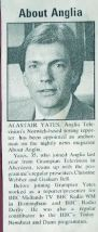 UK Press Gazette - move to Anglia July  1986